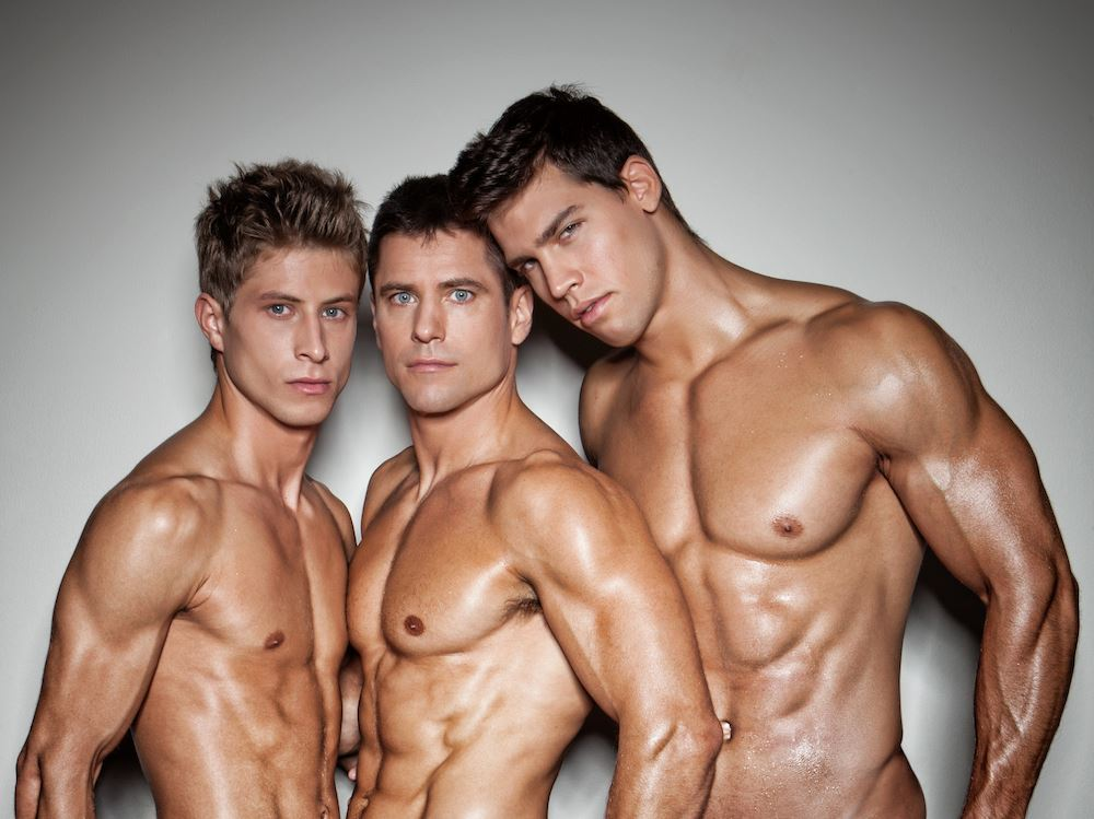Jack Harrer, Lukas Ridgeston and Kris Evans