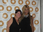 Sharon Stapel and Laverne Cox