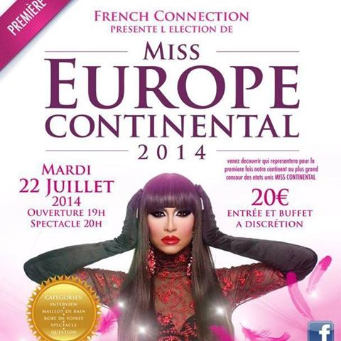 miss europe continental