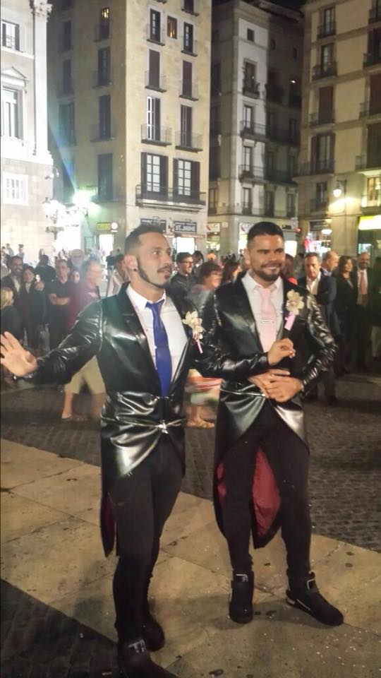 Antonio Miracle and Mario Domenech go MARRIED