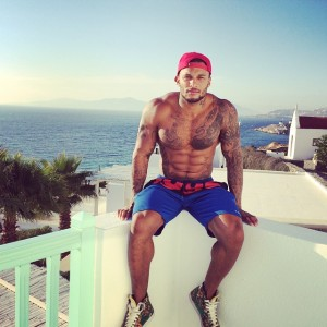 British actor and friend of the gays David McIntosh went on vacation.