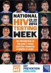 HIV testing week 2014 flyer