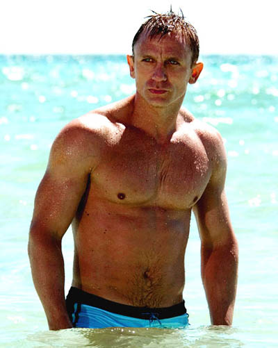 CRAIG DANIEL as the latest JAMES BOND