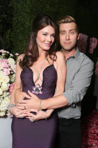 Lance Bass and Lisa Vanderpump