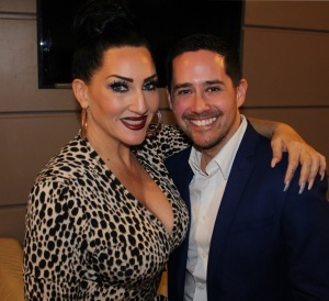 Lesley Middleton and Michelle Visage